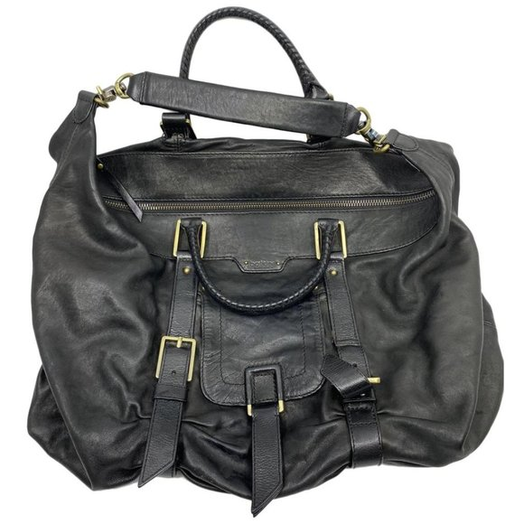 Botkier Handbags - Botkier Black Leather Shoulder Bag